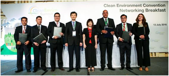 Участники Церемонии подписания Соглашения о создании Международного Альянса клининговых ассоциаций